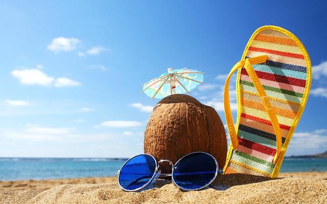 Summer Holiday Dream on The Beach