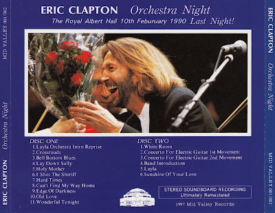 World Of Bootlegs Bootleg Eric Clapton Orchestra