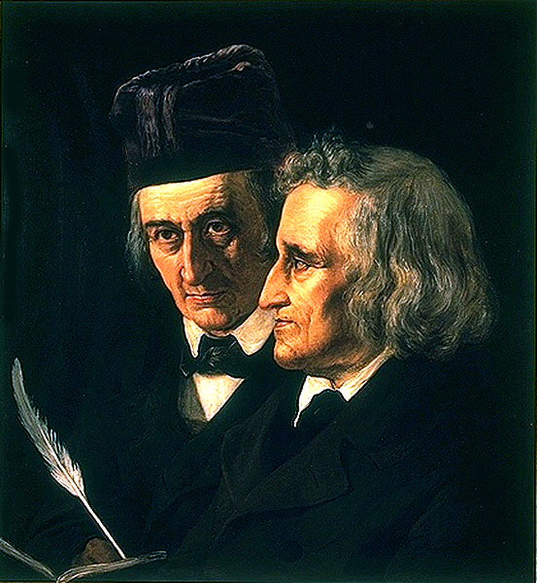 Jacob and Wilhelm the Brothers Grimm