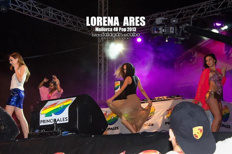Lorena Ares en el Mallorca 40 Pop 2013. Héctor Falagán De Cabo | hfilms & photography.