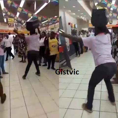 SA Man Causes Commotion In A Mall As He Dances After Receiving His Credit Alert