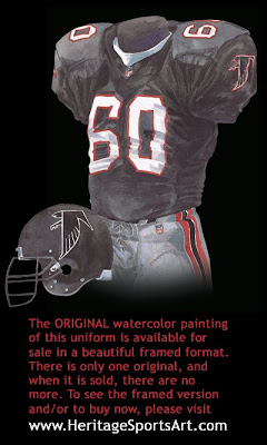 Atlanta Falcons 2001 uniform