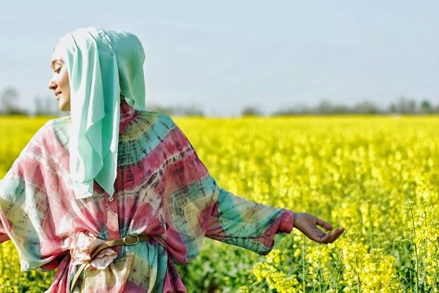 Contoh Model Baju Muslim Gaul 2015