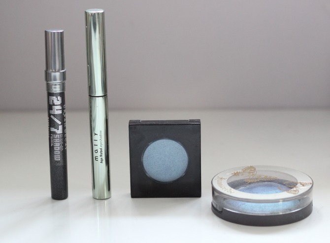 old unwanted eye shadows to throw away