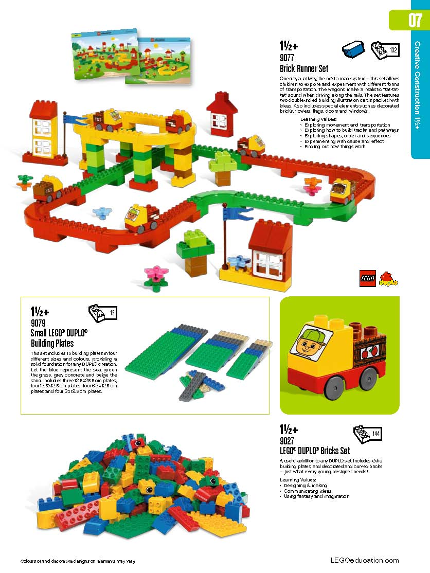 Early Learning Coalition Of Polk County: RoBoTiCS® Education Centre: EARLY LEARNING CATALOGUE 2010