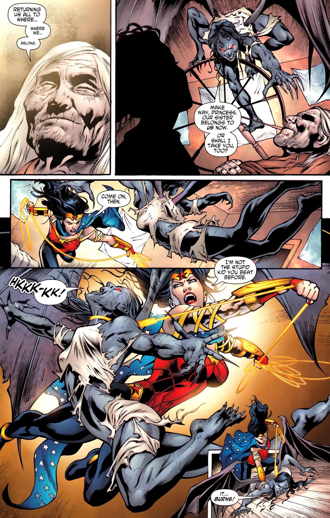 Read online Wonder Woman (2006) comic -  Issue #610 - 12