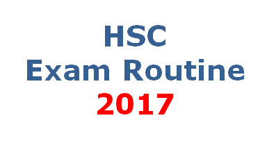 HSC Routine 2017