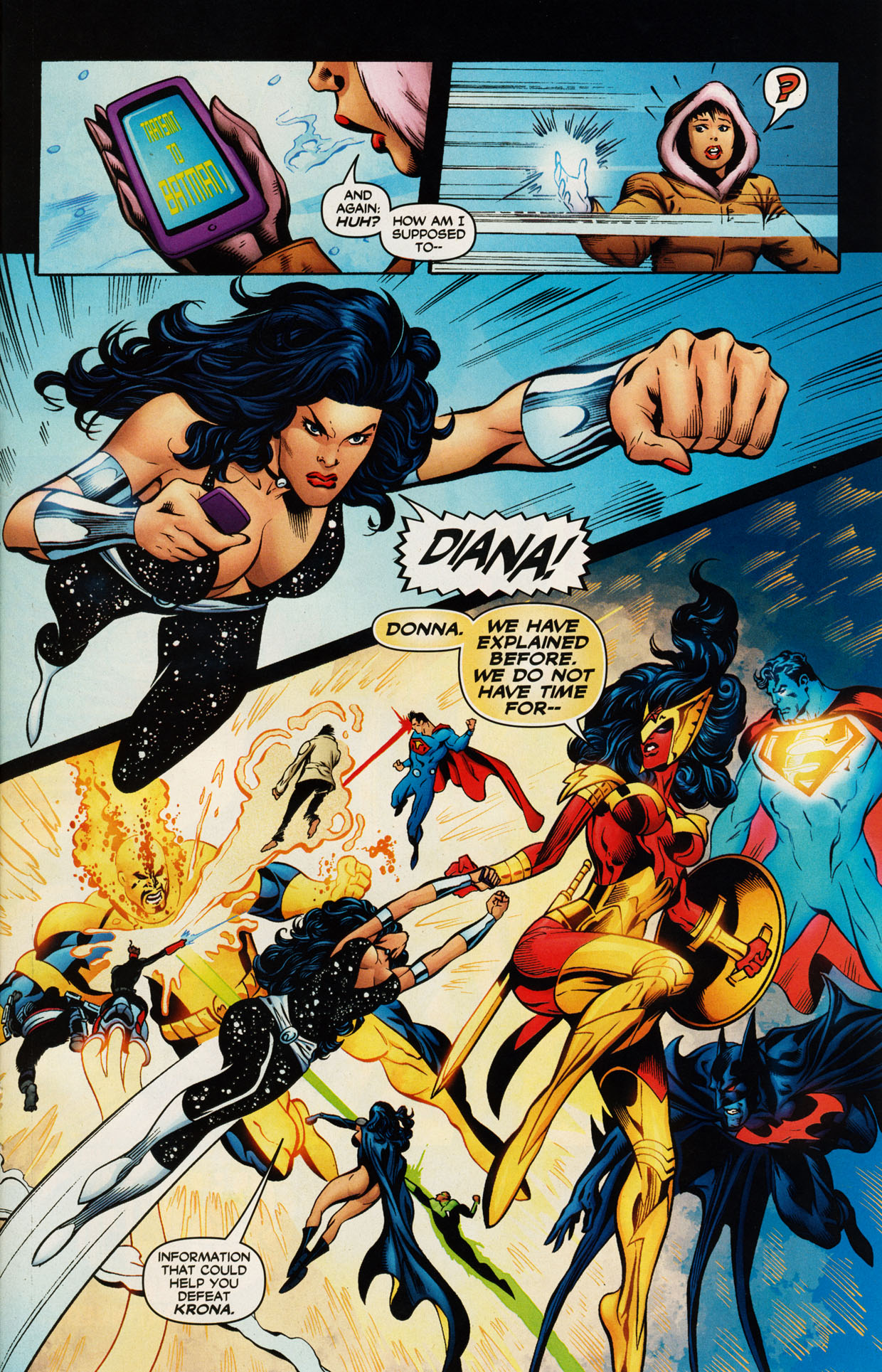 Read online Trinity (2008) comic -  Issue #47 - 26