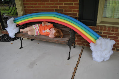 Mom S Best Nest Vbs Giant Diy Victoria Falls Rainbow