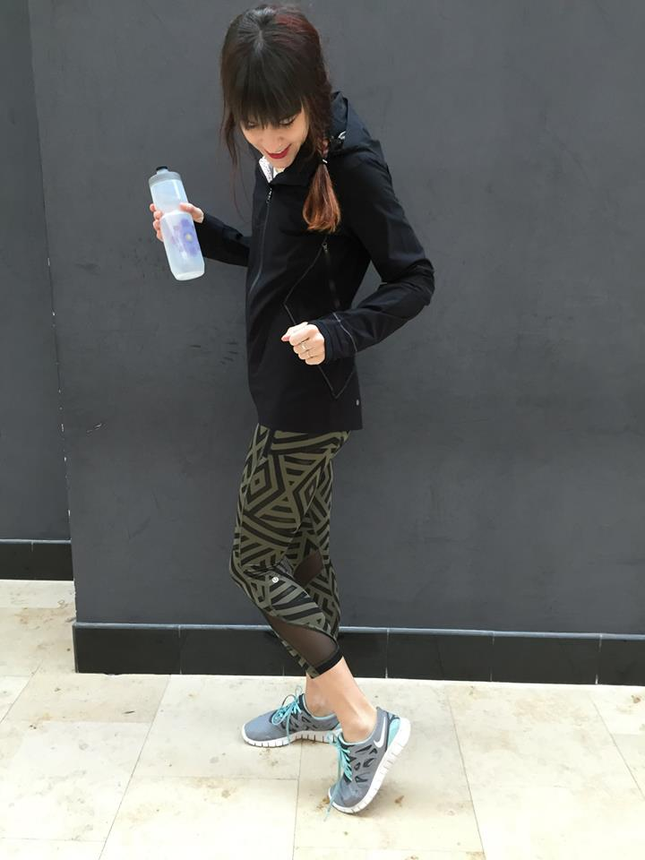 lululemon chevron inspire tight