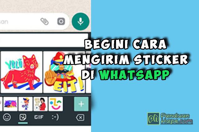 begini cara mengirim sticker di WhatsApp