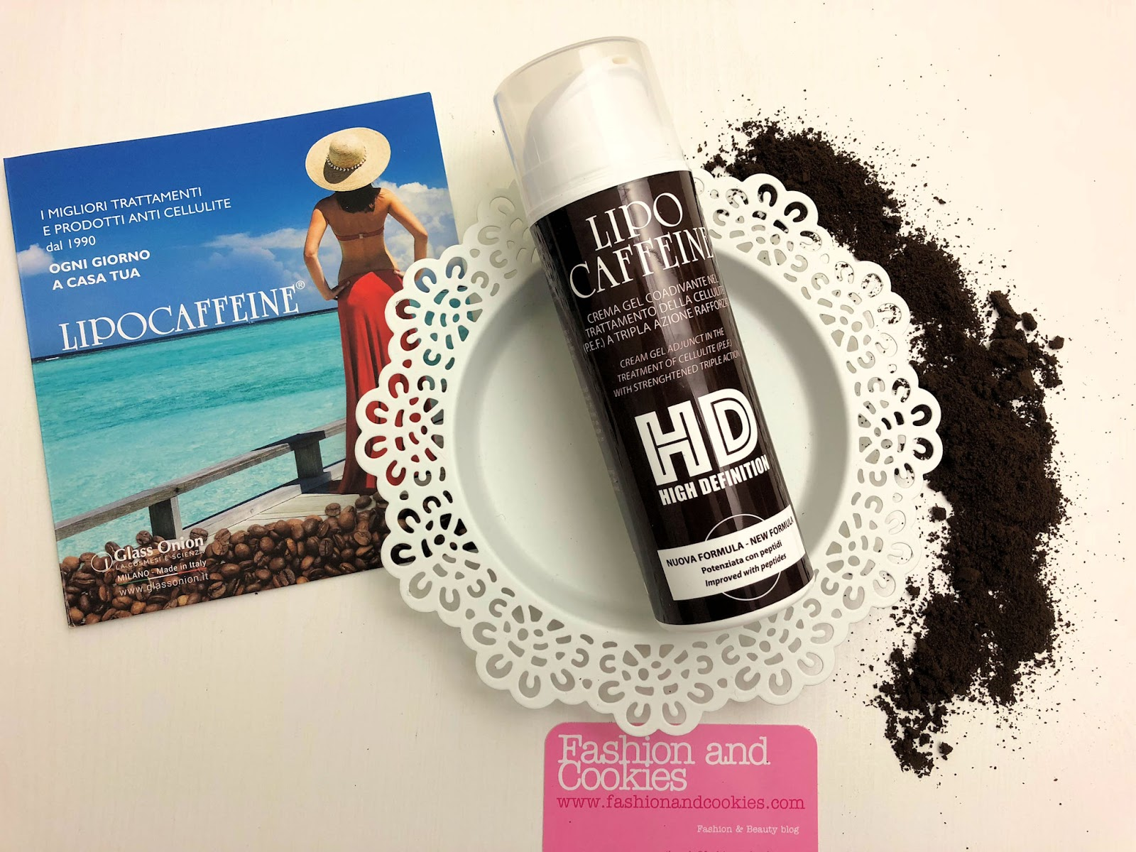 S.O.S. Cellulite: Glass Onion Lipocaffeine HD crema gel anticellulite su Fashion and Cookies beauty blog, beauty blogger