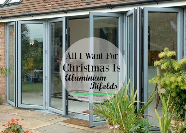 Aluminium bifold doors from Welsh firm The Monmouthshire Window Company