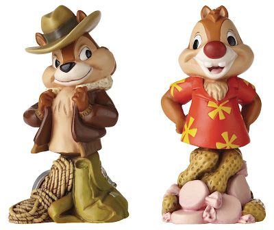 Chip 'n Dale Rescue Rangers Grand Jester Disney Mini Busts