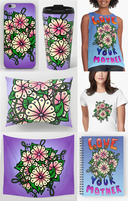 Love Your Mother by Susan Phillips Hicks of Melasdesign
