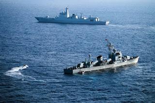 Kapal Militer AS Berlayar Dekat Pulau Sengketa
