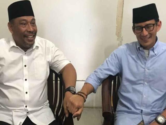 Sandiaga Salahuddin Uno Meet Maluku Governor, Murad Ismail
