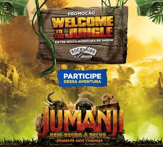"""Promoção """" Welcome To The Jungle""""  Rock & Ribs"""
