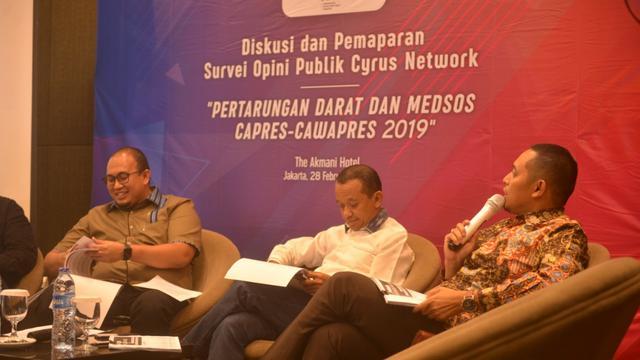 Jika Jokowi Kalah, Direktur Lembaga Survei Cyrus Network Siap Pensiun