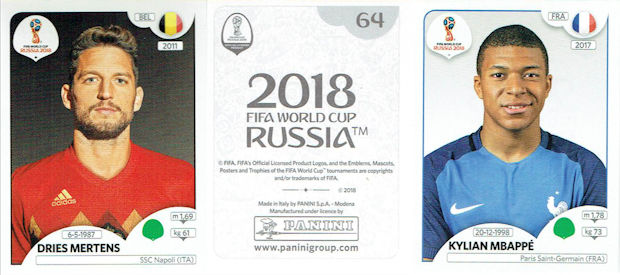 Football Cartophilic Info Exchange  Panini - FIFA World Cup Russia ... 3574dcdd1e7b