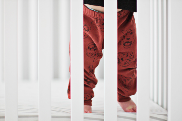 Tiger-print pants by Kira Kids