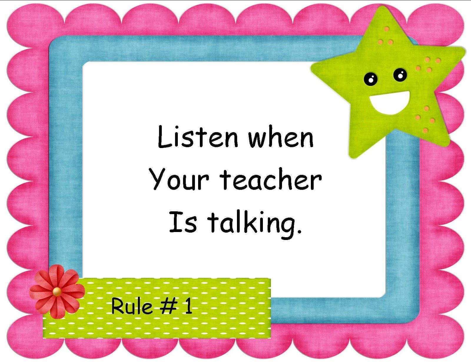 Mrs Cook S 2nd Grade Blog Ocean Class Rules