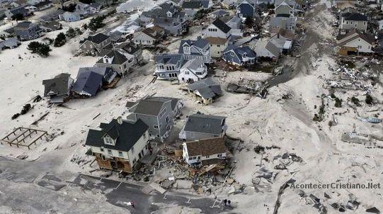 """Violencia del huracán """"Sandy"""""""