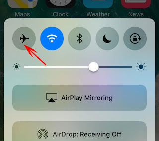 iMessage Problems Airplane Mode