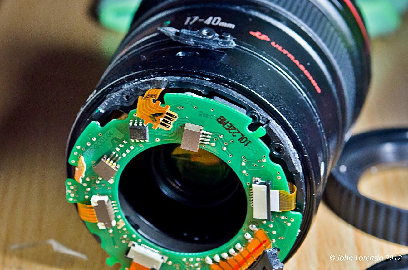 Canon Lens 17-40mm EF f4L USM