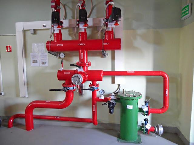 maszyny i urządzenia elektrowni wodnej w Dychowie