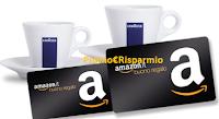Logo Concorso ''Ogni giorno è buono per vincere con Lavazza'': buoni Amazon da 1.000€ e 5.000€