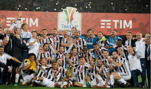 Juventus vs Milan 4-0 Highlights Copa Italia - Juve Juara