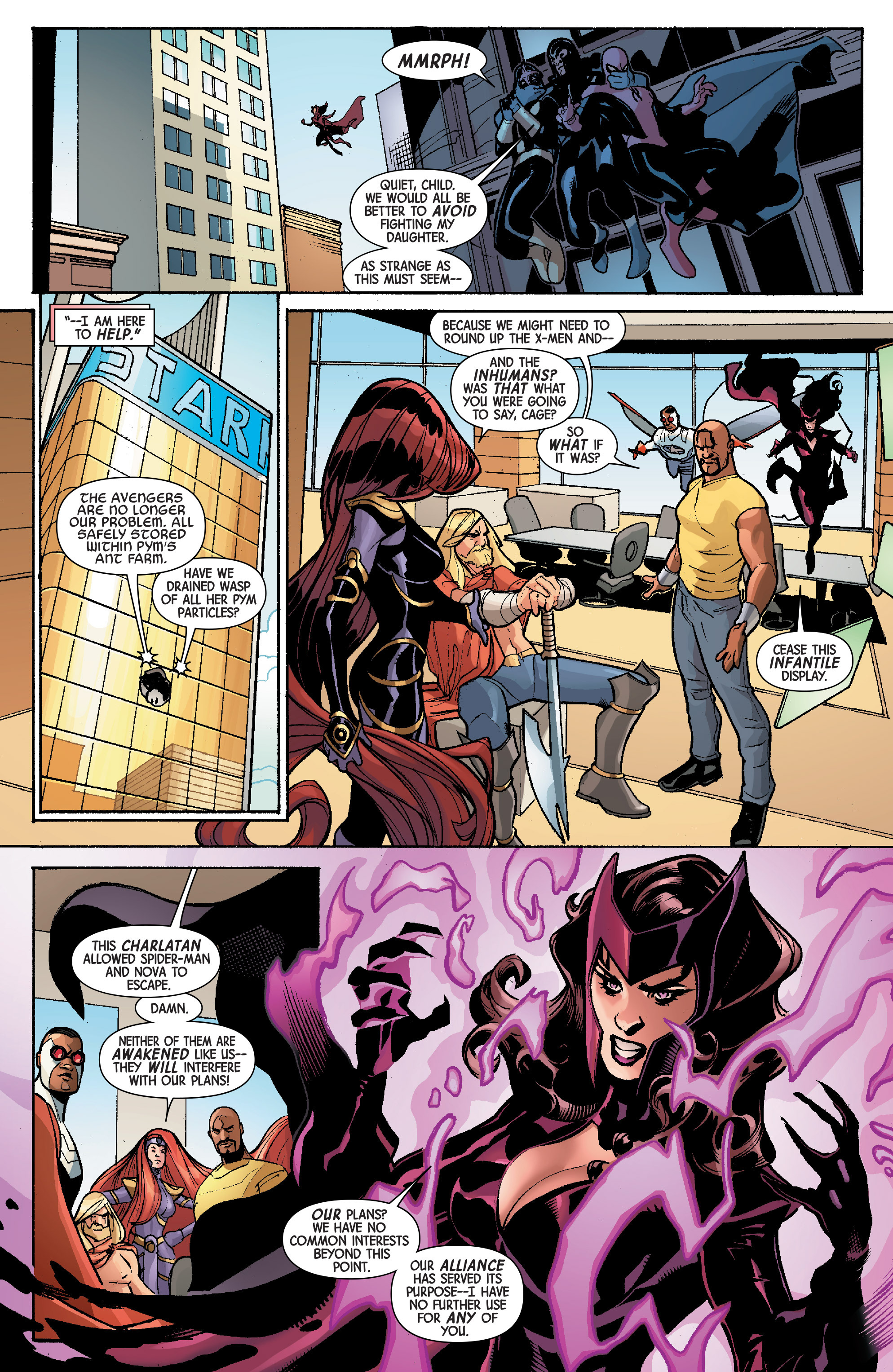 Read online Avengers & X-Men: AXIS comic -  Issue #5 - 12