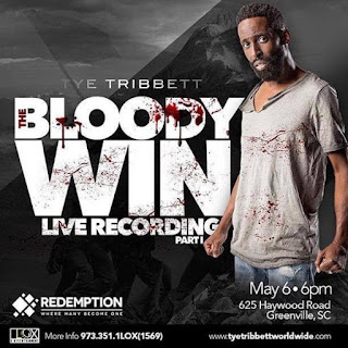 Download: Tye Tribbett - Bloody Win + Lyrics