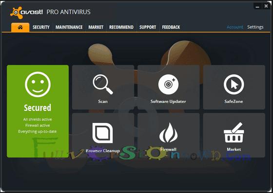 Avast! Pro Antivirus 2017Latest  Full