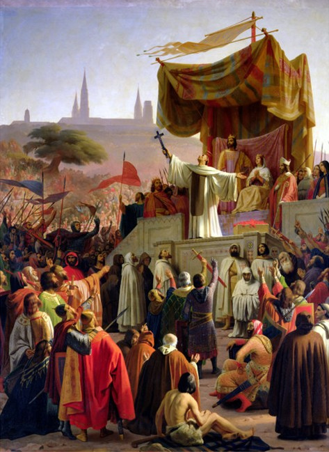 St. Bernard de Clairvaux, Preaching for Crusade.