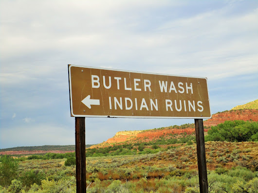 Butler Wash Indian Ruins, UT ~ Robby Around The World