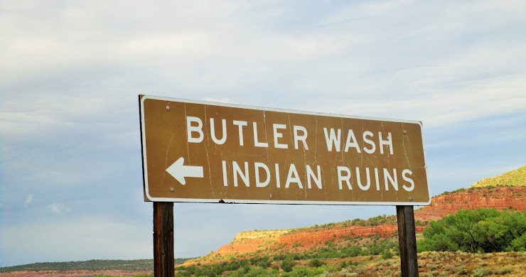 Butler Wash Indian Ruins, UT