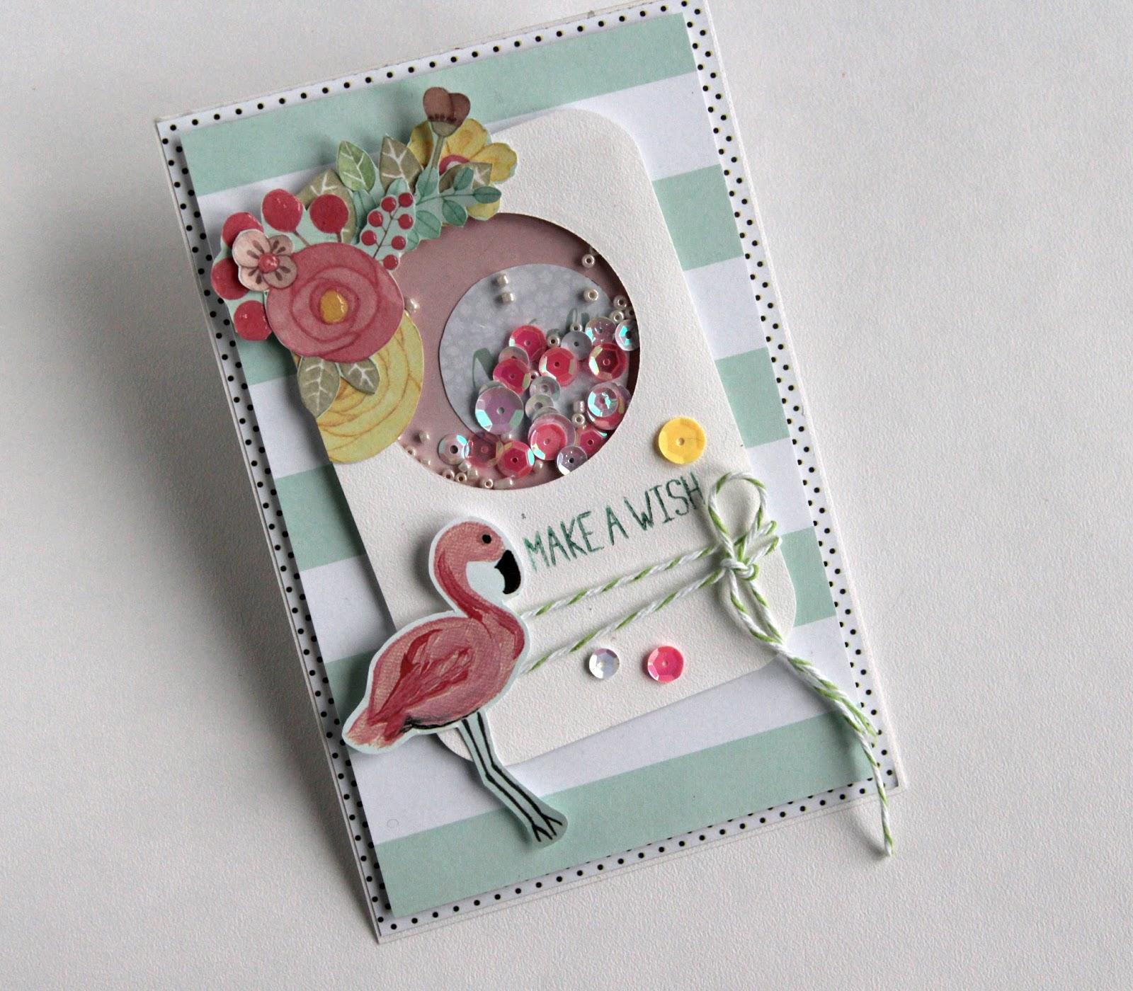 Скрапбукинг открытка для подружки, для