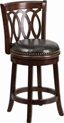 Elegant Wood Bar Stool