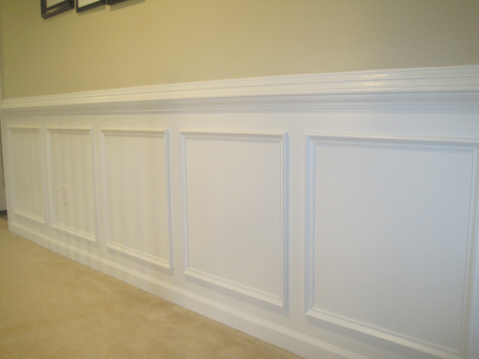 Designed To Dwell Tips For Installing Chair Rail Amp Wainscoting