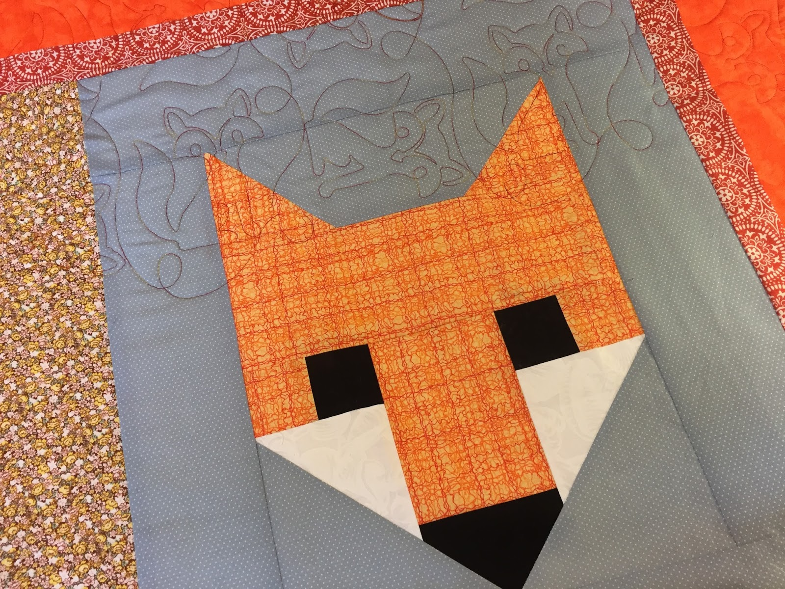 Val\'s Quilting Studio: Just off the frame....