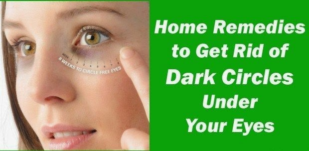 Natural Ways to Get Rid of Dark Circles Under Your Eyes