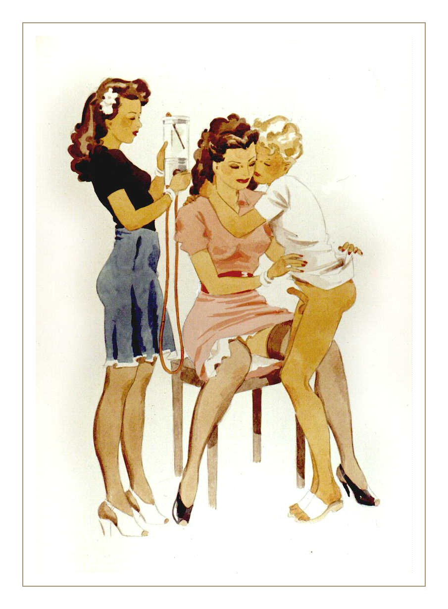 something is. sexy three some with beauties your phrase