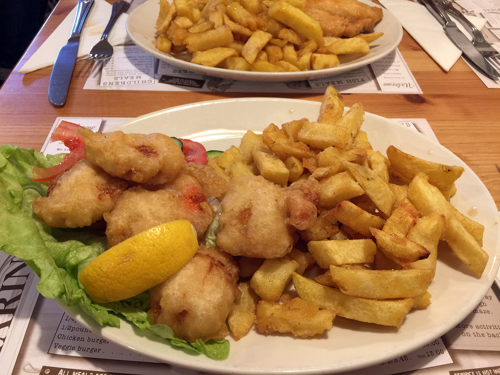 Marino's Fish Bar Rye - Best fish & chips ever scallop week