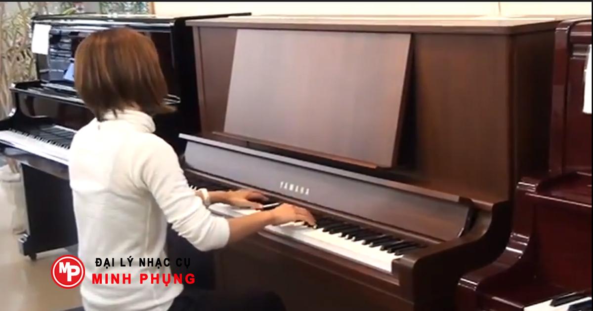 Đàn Piano Yamaha W102, W102B, Piano Màu Gỗ Cao Cấp