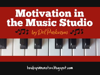 Motivation in Music Lessons