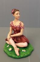 statuina personalizzata ragazza idea regalo ballerina cake topper orme magiche