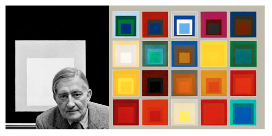 Art now and then josef albers for Josef albers color theory