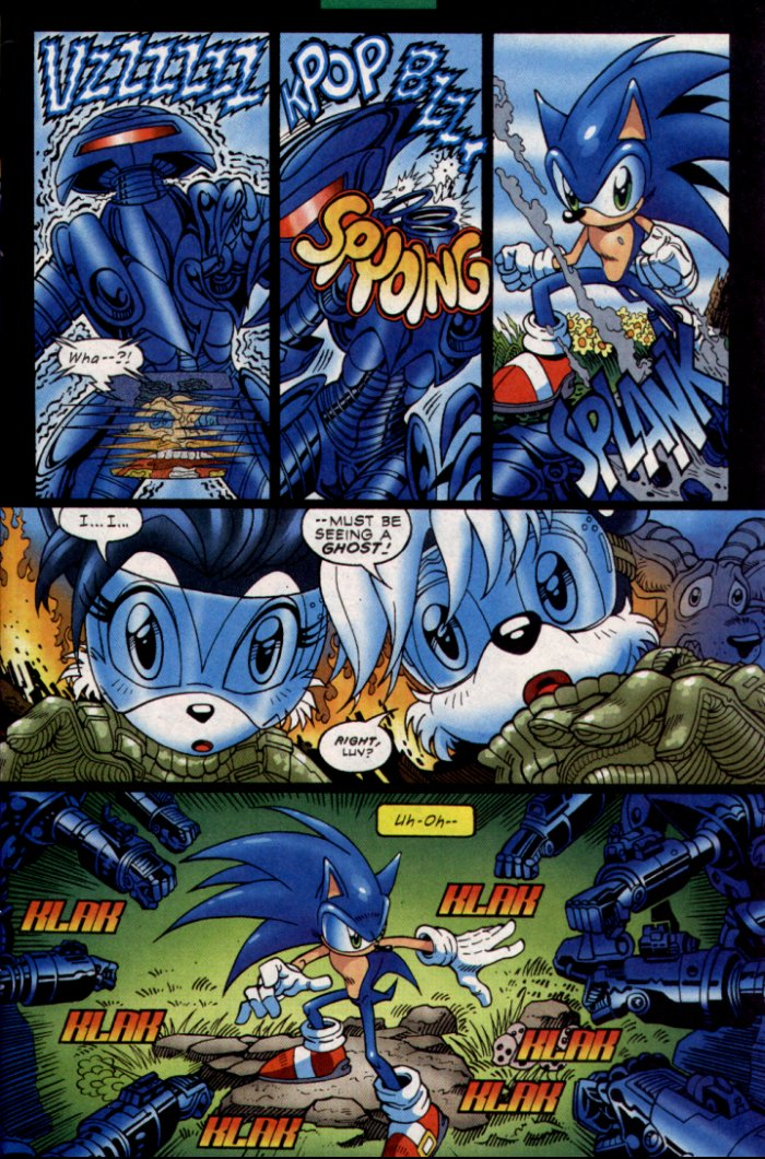 Read online Sonic The Hedgehog comic -  Issue #130 - 6
